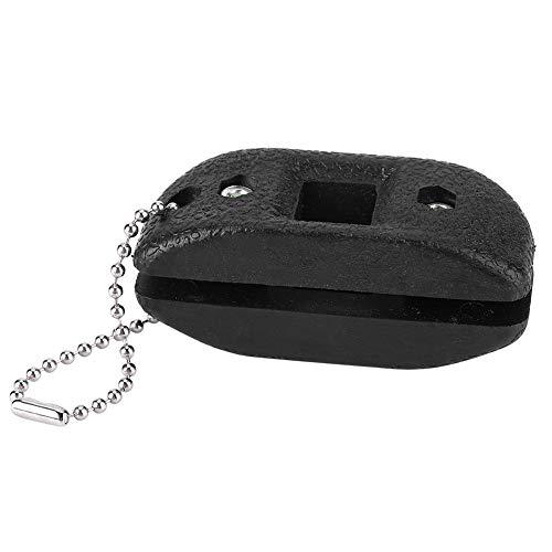 Keenso Schlittschuh Schleifer, Tragbar Schlittschuh Kufenschleifer Breite-einstellbar Schlittschuh Messerschärfer Werkzeug (6.5 * 3 * 2.5cm)