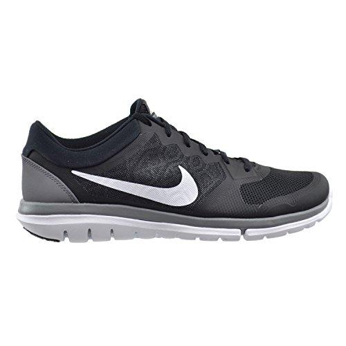 Nike Men's Flex Experience RN (Black/Cool Grey/White) Running Shoe, 10.5 D(M) US
