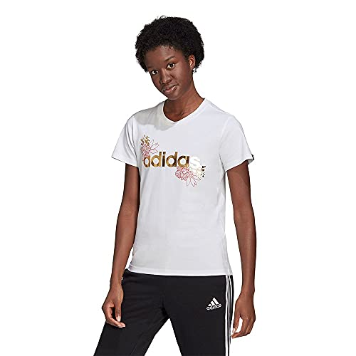 adidas W Foil Lin G T Camiseta Mujer