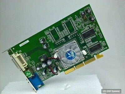 Biostar nVidia GeForce FX5200 128MB AGP Video Card/Computer-Grafikkarte VP5200SS