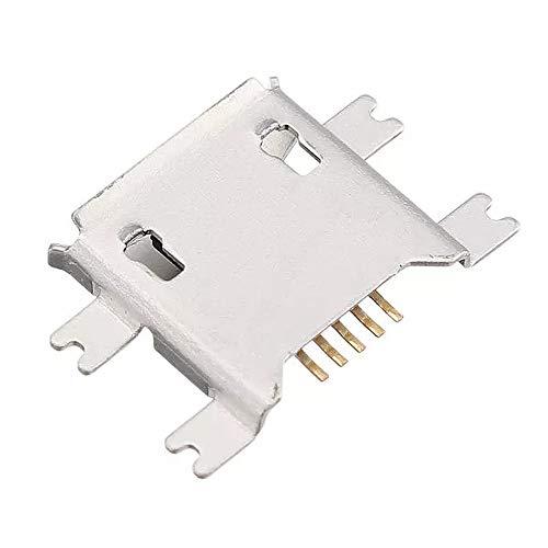 DIY Reemplace los accesorios 5 pines Conector SMT zócalo micro USB tipo B hembra SMD DIP hembra Connector - 10PCS