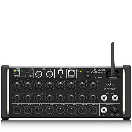 Behringer XR18 Digital Mixer. Buy it now for 598.99