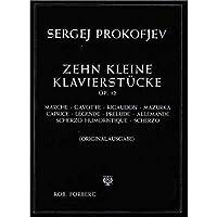 Sergei Prokofiev: 10 Kleine Klavierstücke Opus 12