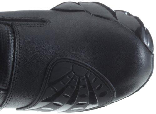 Protectwear TS-006-43 Motorradstiefel Racing aliue, Wasserabweisend aus schwarzem Leder mit aufgesetzten Hartschalenprotektoren, Größe 43, Schwarz - 11