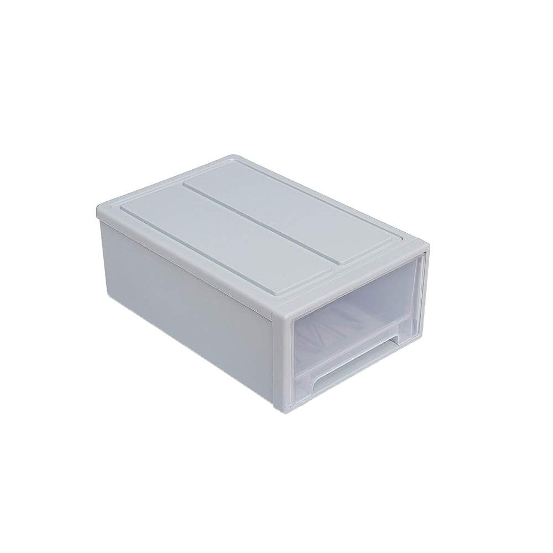 腕薬局クレーンQLJJSD 家庭用 洋服収納ボックス 引き出しタイプ 家庭用仕上げ ワードローブ収納ボックス プラスチック収納キャビネット ブルー収納ボックス 収納ユニット A ブルー QLJJ6923214