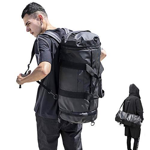 3-Way Large Gym Sports Travel Duffel Bags for Women & Men...