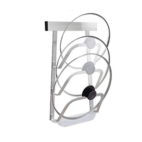 41yFIXQGN4L. SL500  - GFDFD Küchenwerkzeug 3-lagige Anti-Fall-Metalltrocknung Pan Pot Rack Abdeckung Deckel Rest Stand Löffelhalter
