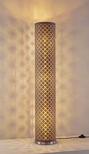 Casa Nova Stehleuchte CHARMING (DH 20x110 cm) DH 20x110 cm braun Stehleuchte Stehlampe Leseleuchte LED-Stehleuchte Bogenleuchte