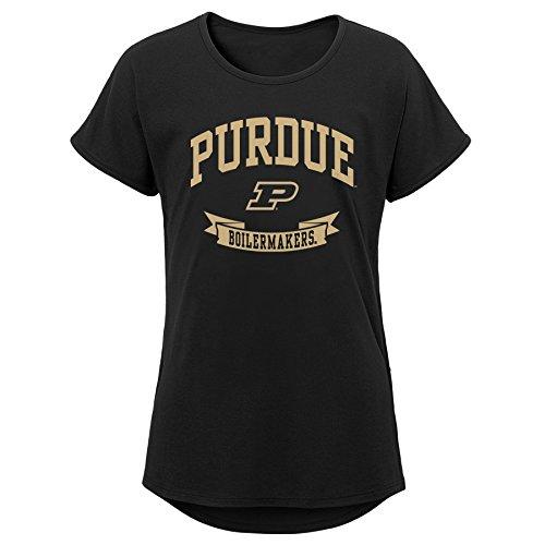 OuterStuff NCAA Mädchen Dolman-T-Shirt, Mädchen, Korallenrot, Youth Large (12-14)
