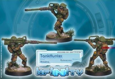 Infinity (#106) Ariadna - TankHunter (Autocannon) by Corvus Belli
