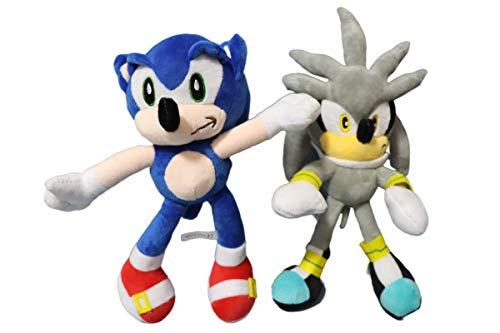 Peluche Sonic juguete 2 unids/lote 28 CM Sonic Boom felpa de...