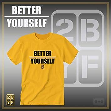 2BYF Gold T Blacc Logo