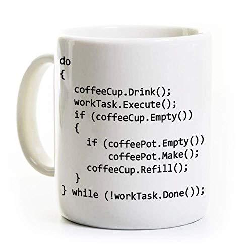 Computer Science Coffee Mug - C++ Programmer Coder Gift 11 Oz. - Verified Code