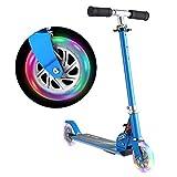 WeSkate Scooter for Kids Foldable 2 Wheel Light Up Kick Scooter for Girl...