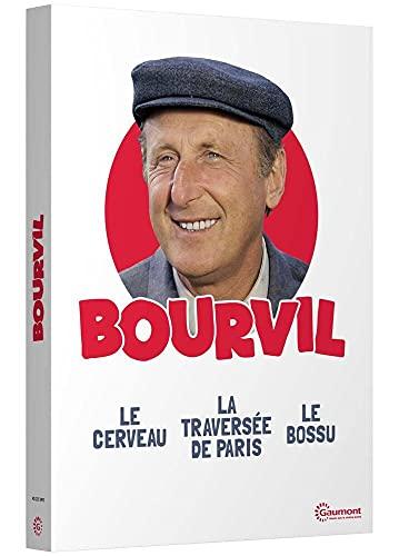 Coffret Bourvil : Le Cerveau + Le Bossu + La Traversée de Paris