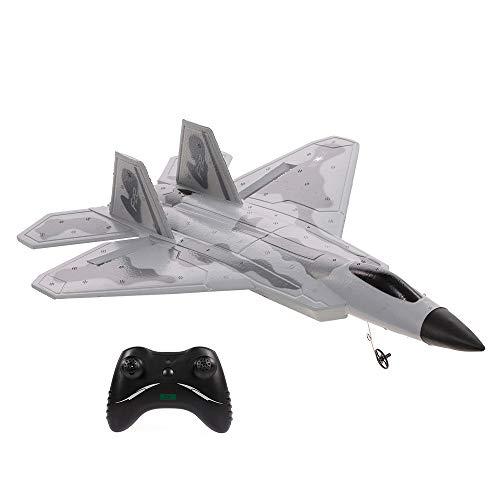 GoolRC FX822 F-22 Raptor Modelo Avión de Combate 2CH EPP 2.4G Avión de Control Remoto Avión de ala Fija RTF