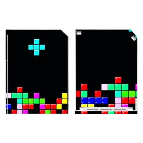 Disagu Design Skin für Nintendo Wii stehend - Motiv Tetris No. 1