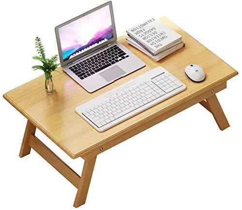 Office Life Desk Laptop Tisch Klapptisch Einfacher Studiertisch Studentenwohnheim (Farbe: Braun, Maße: 60 40 25 cm), (Farbe: Braun, Größe: 704030 cm)