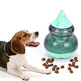 Womdee Dog IQ Treat Ball, Giocattoli per Cani interattivi   Auto Cane Gatto Pet Food Dispenser, Slow Feeder Pet Food Treat Ball, IQ Dog Puzzle Giocattoli per Cucciolo, Gatti, Cani