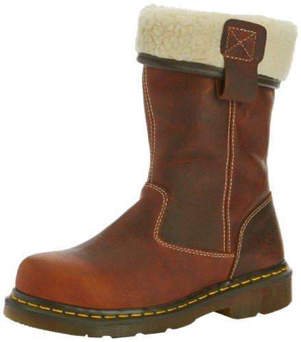 Dr. Martens Industrial Rosa, Stivali da donna, colore marrone (Teak), taglia 37 (4 UK)