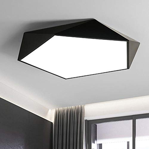 Macaron plafondlamp slaapkamer lamp geometrie moderne slaapkamer plafond strip kleuterschool lamp LED @segment in drie kleuren_Led36 W wit