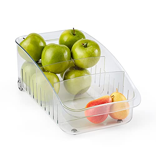 YouCopia RollOut Fridge Drawer, 8', Clear