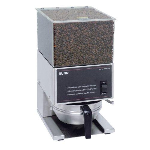 BUNN LPG Low Profile Portion Control Grinder with 1 Hopper
