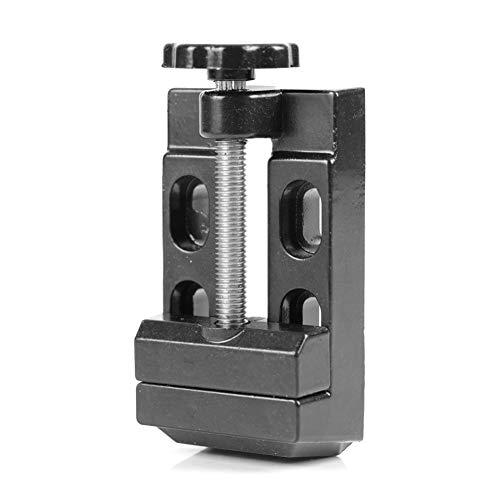 East buy - Vise Flat - Mini Flat Clamp Bench Vise Aluminum Alloy Drill Press Vice Carving Tools