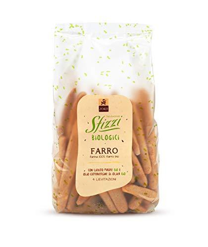 Panificio Zorzi - Mini Grissini Sfizzi Biologici al FARRO con lievito madre e olio extravergine di oliva - pacco 8 confezioni da 200 g (8)