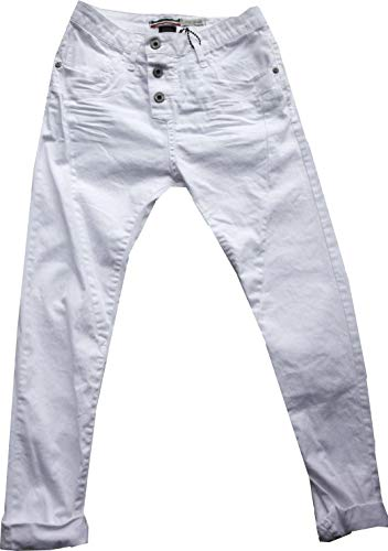 Please Now Damen Jeans weiß XS/36 (26-27)