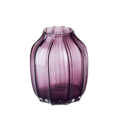Casamotion Vases Hand Blown Solid Color Home Decor Centerpieces Gift Art Ribbed Glass Vase Violet 8 Buy Online In Aruba At Aruba Desertcart Com Productid 19256899