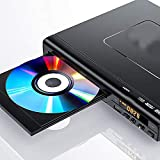 Oyria DVD Player, DVD Player mit HDMI und AV Ausgang, All Regions Code-Free, DVD Player für TV mit Fernbedienung, DVD/CD/MP3 DiscPlayer