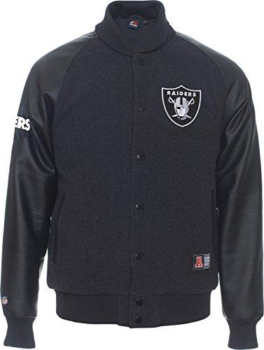 Oakland Raiders colesmead NFL Letterman Jacke–XL