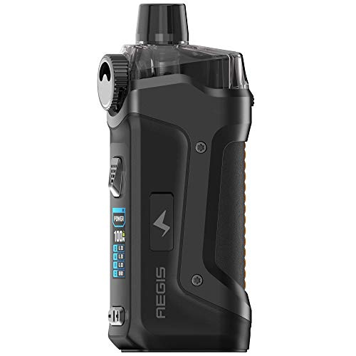 GeekVape Aegis Boost PRO Mod Pod Kit 100 W, Pod-System 6 ml, e-Zigarette, schwarz