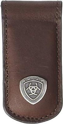 Ariat Men's Ariat Shield Magnetic Money Clip Dark Copper One Size