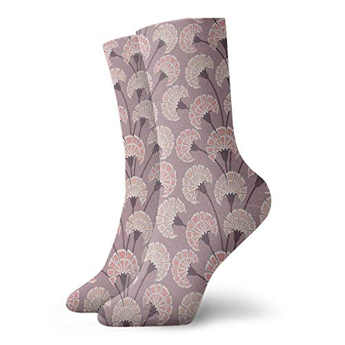 Tommy Warren Calcetines Casuales Claveles perfumados Calcetines Deportivos Estampados Deportivos Calcetines de compresión Calcetines de tripulación Calcetines de Tobillo