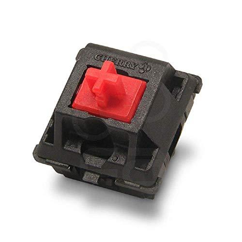 Cherry MXレッドキースイッチ(10個)-MX1A-L1NN | プレートマウント| メカニカルキーボードの触覚スイッチ。