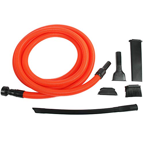 Centec Systems 93543 Shop Vacuum Garage Kit, 20 Ft. Hose, Orange/Black
