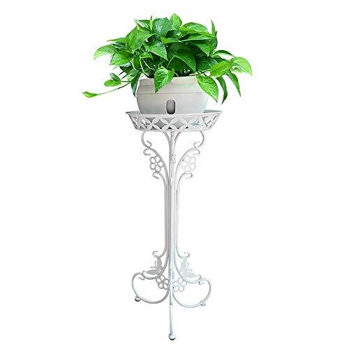 Udfybre Supports de Pot de Fleurs en Fer, 1 Porte-Pots pour Pots, étagère au Sol Design élégant, Support de Fleurs décoratif pour extérieur en Plein air pour Jardin