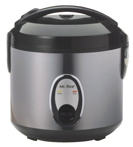 4 Cups Rice Cooker with Stainless Body