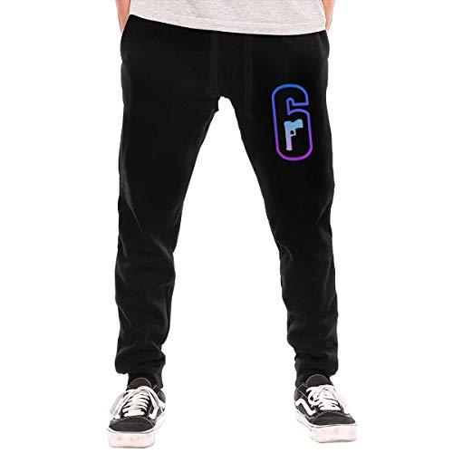 JYRJ Men's Rainbow Six Siege Fashion Sweatpants Workout Athletic Jogger Long Pants