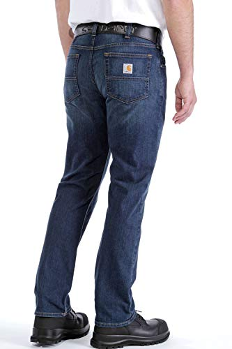 Carhartt Men's Rugged Flex Relaxed Straight Leg Jean, Superior, 33W X 30L
