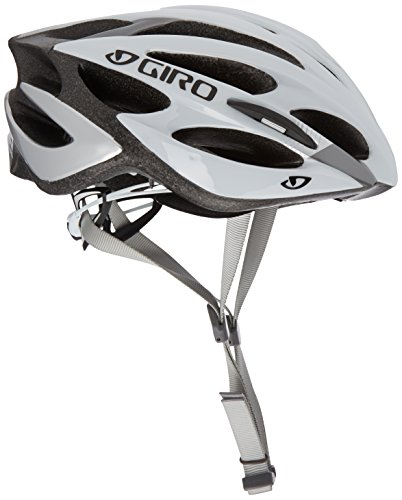 Giro Helm Monza, White/Silver, 51-55 cm