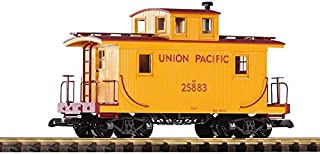 PIKO G SCALE MODEL TRAINS - UNION PACIFIC WOOD CABOOSE 25883 - 38830
