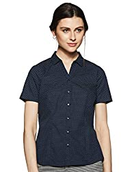 Annabelle By Pantaloons Womens Polka dot Regular fit Shirt