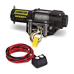 champion 3000 lb winch review