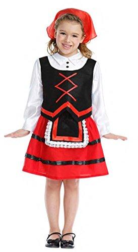 Disfraz de Pastora Infantil (5-6 años)