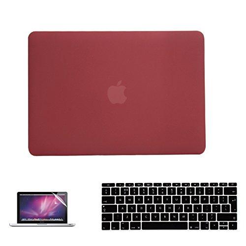 i-Buy Matte rubberen harde beschermhoes voor Apple MacBook Air 13