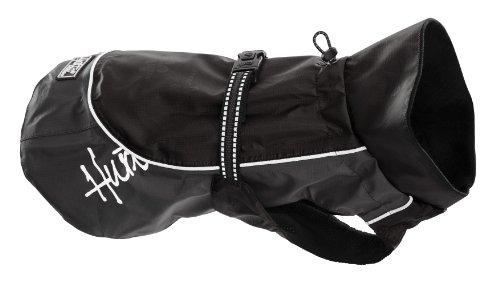 Hurtta Outdoors Abrigo de Lluvia para Perros, Color Negro