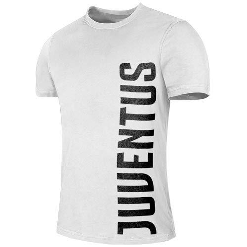 DIVASPORT T-Shirt Bianca F.C. Juventus - Prodotto Ufficiale (XXL)